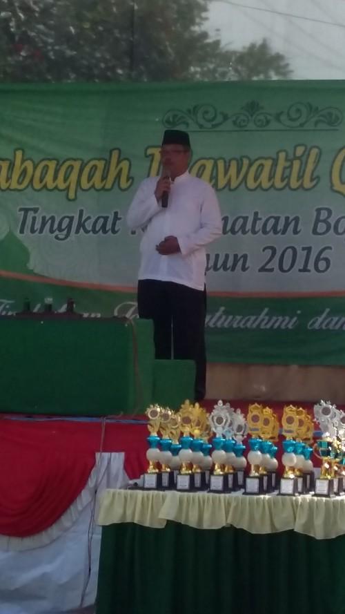 Pelaksanaan MTQ Tingkat Kecamatan Bojonggede