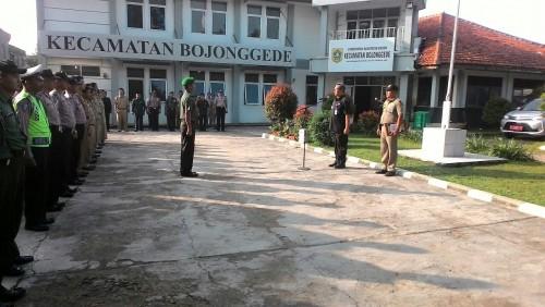 Apel Bersama dalam rangka halalbilhalal Muspika Kecamatan Bojonggede