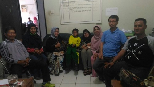 Koordinasi Para UKM Kecamatan Bojonggede dengan Seksi Perekonomian