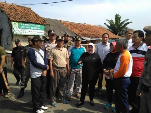 Kunjungan Ibu Bupati Ke Kecamatan Bojonggede