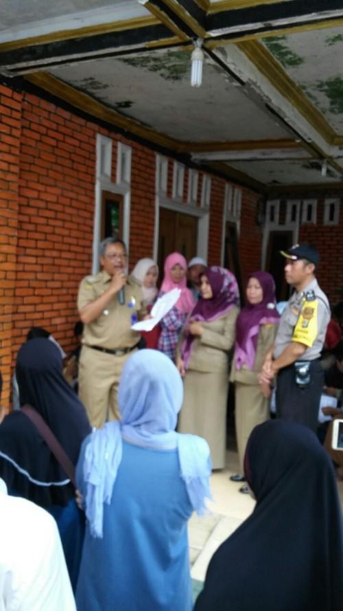 Perekaman Data buat E KTP di Desa Cimanggis
