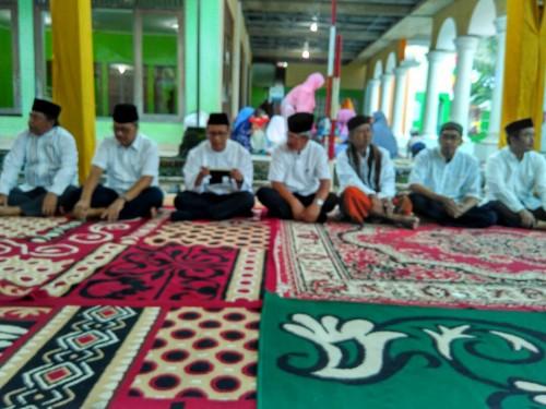 Tarling dan Peresmian Jalan Depan Masjid Albatul Desa Bojonggede