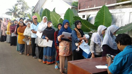 Pemberian Bantuan PKH Dari Dinas Sosial