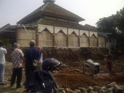 Pembangunan Masjid Raya Desa Bojong Baru
