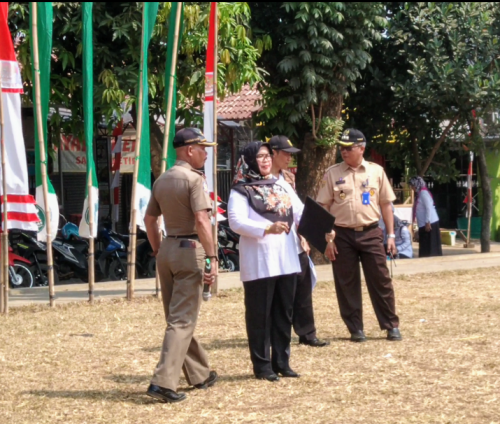 Kesiapan Desa Ragajaya sebaga Tuan Rumah Pelaksanaan HUT RI Ke 74 th 2019 Tk. Kecamatan Bojonggede
